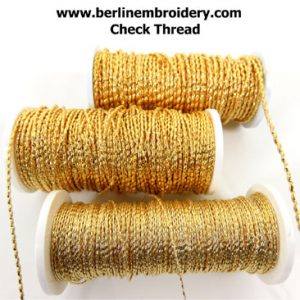 Back in Stock: Gold 2% WM 8 x 2 Check Thread