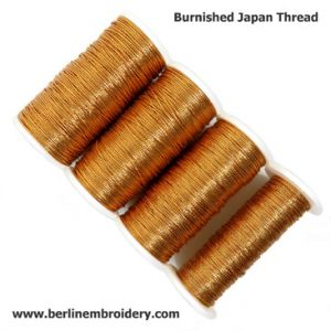 Burnished Japan Thread