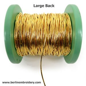 Back in Stock: Large Back - Metal Thread
