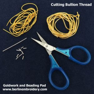 Goldwork and Beading Pad