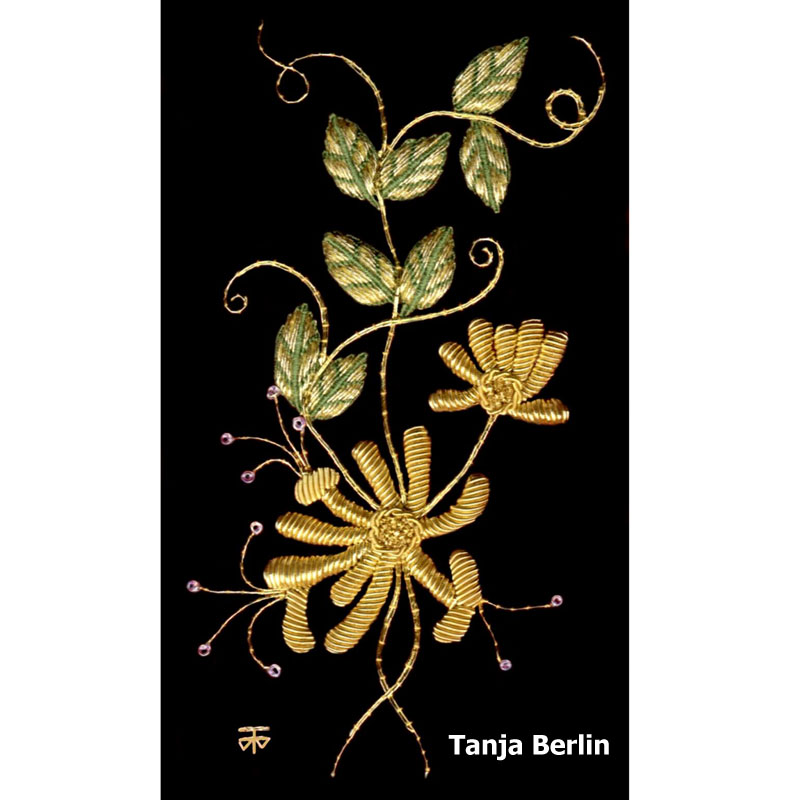 Goldwork Hand Embroidery Kits Berlin Embroidery Designs