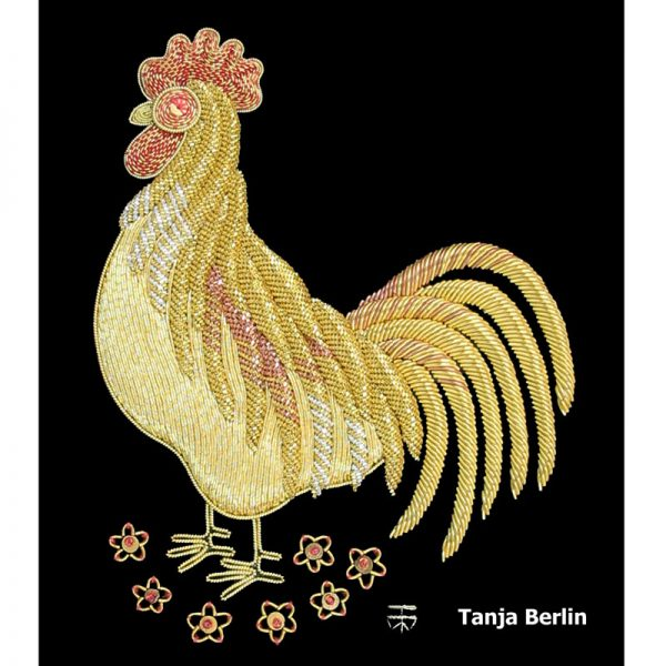 Goldwork Rooster