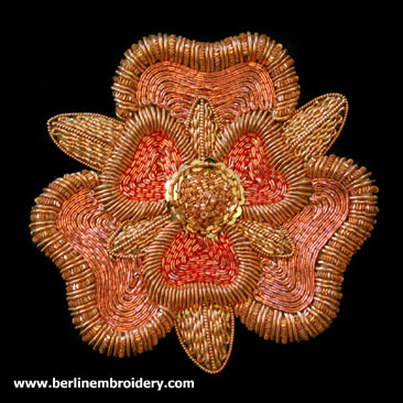 Copper Tudor Rose