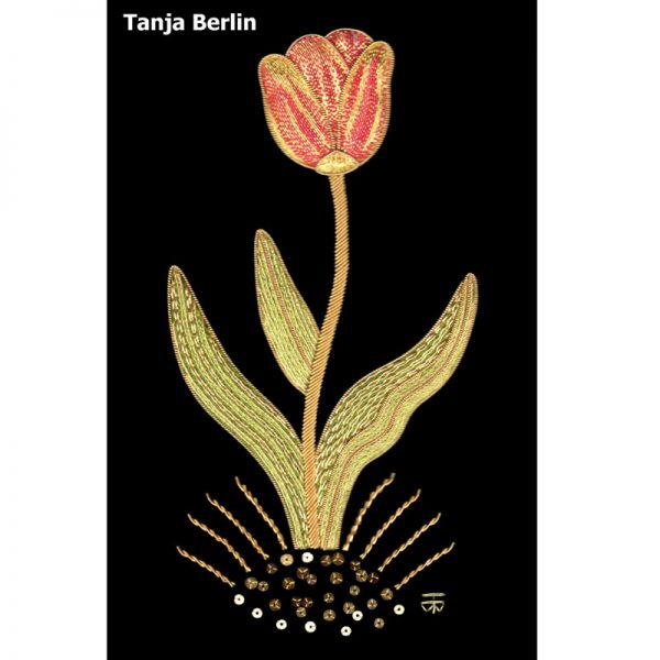 Goldwork Tulip