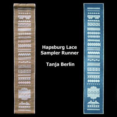 Hapsburg Lace Sampler Runner