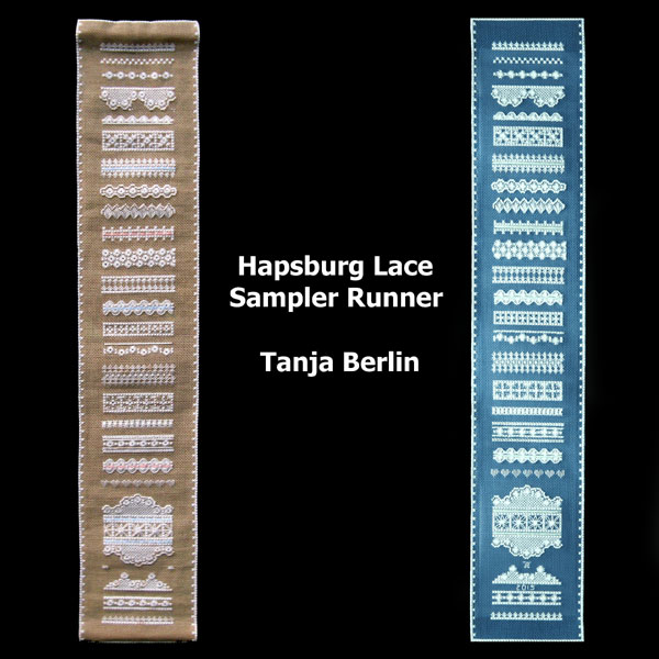Hapsburg Lace Sampler Runner