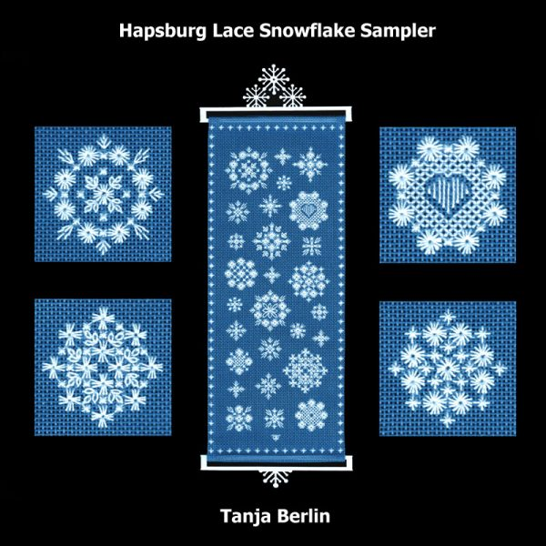 Hapsburg Lace Snowflake Sampler - Group Rate
