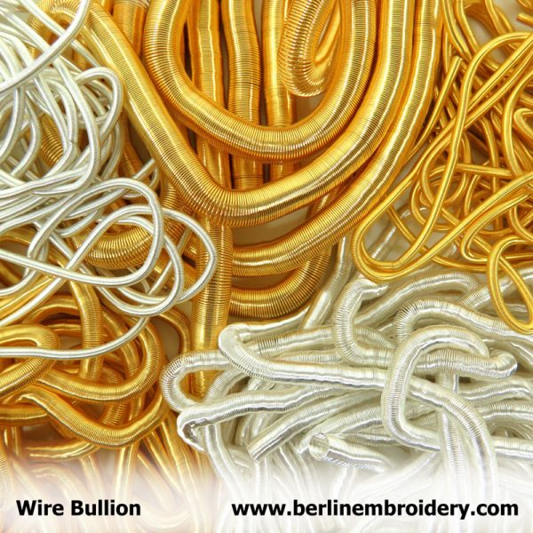 Discontinued Bullion Thread Large Wire Bullion Berlin