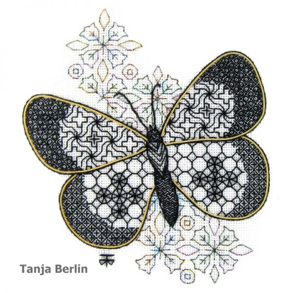Small Blackwork Butterfly