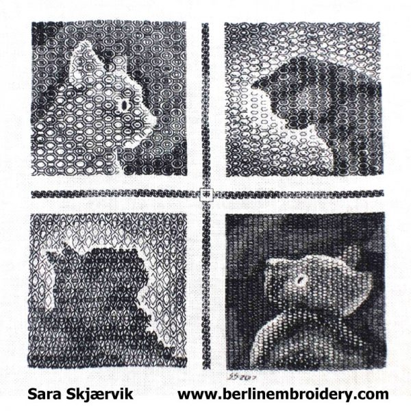 Blackwork Cats